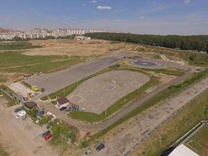 Автодром Дзержинский для тренировок автоспортсменов, гонщиков