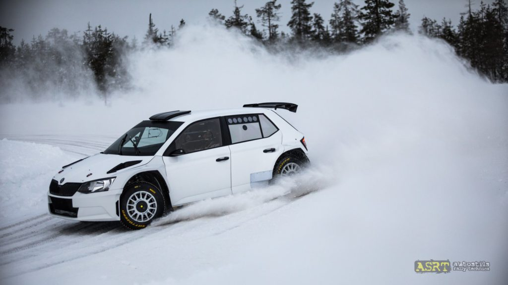 Тесты на Snow Rally Rings