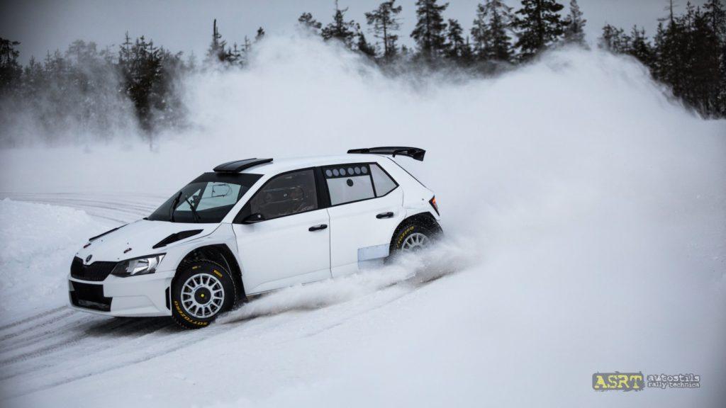 Тесты на Snow Rally Rings