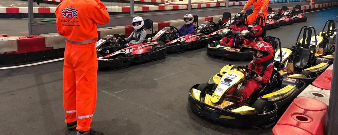 Тренировка гонщика в РУМОС-Спорт