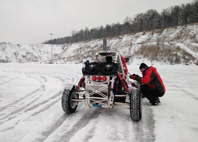 автодром багги зима